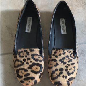 Steve Madden Cheetah Print Flats